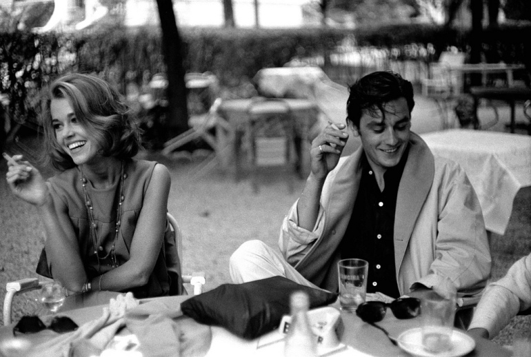 fonda and delon