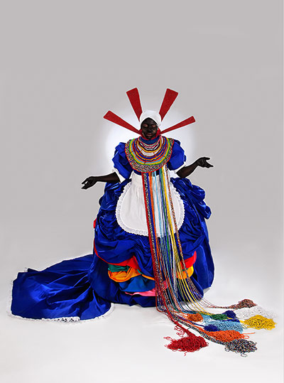 The work of south African artist Mary Sibande